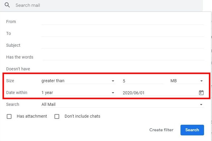 How to Find Large Emails In Gmail And Clean Up Your Inbox 5