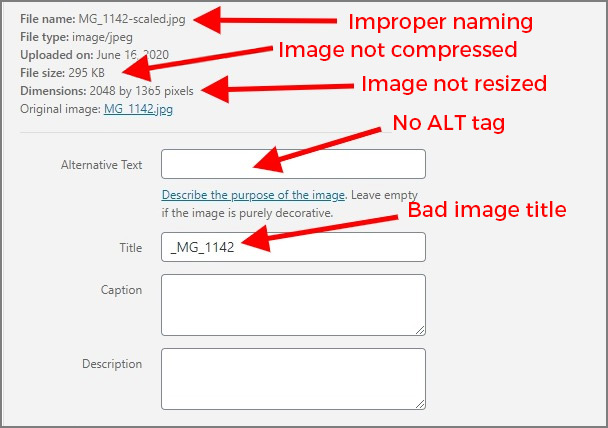 How To Properly Name and Optimize Website Images for SEO 1