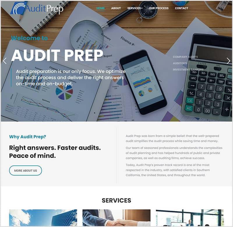 website redesign before after