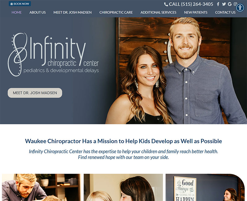 Best Chiropractic Website Design Inspiration: 2021 Edition 11