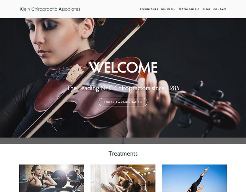 Best Chiropractic Website Design Inspiration: 2021 Edition 1
