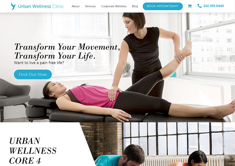 Urban wellness chiropractic clinic