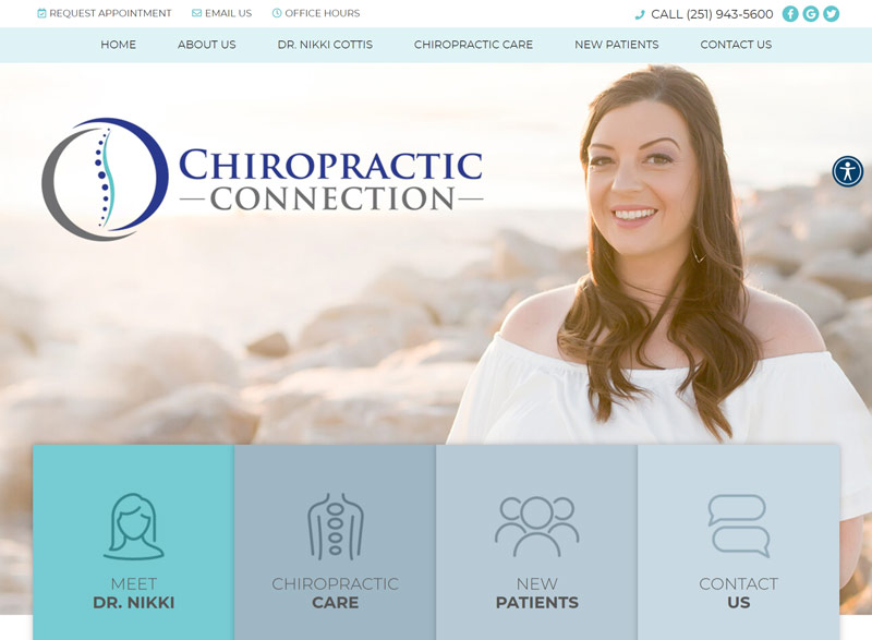 Best Chiropractic Website Design Inspiration: 2021 Edition 3