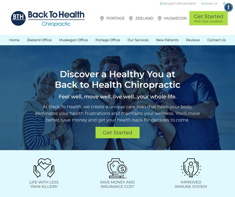 Best Chiropractic Website Design Inspiration: 2021 Edition 5