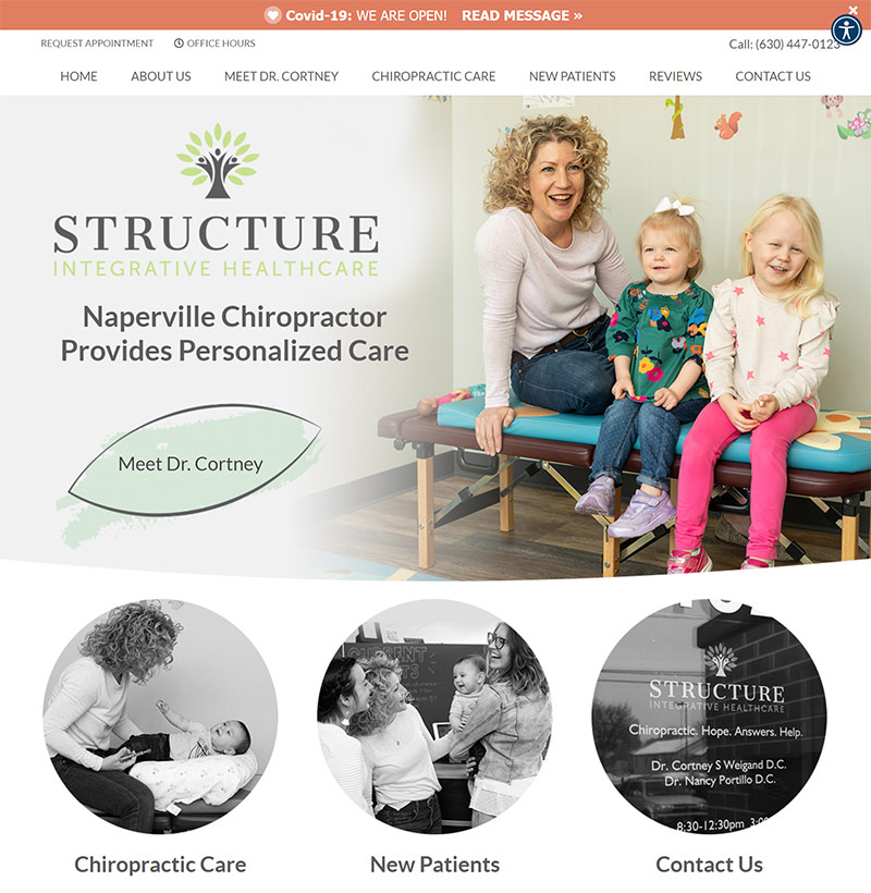 Best Chiropractic Website Design Inspiration: 2021 Edition 6