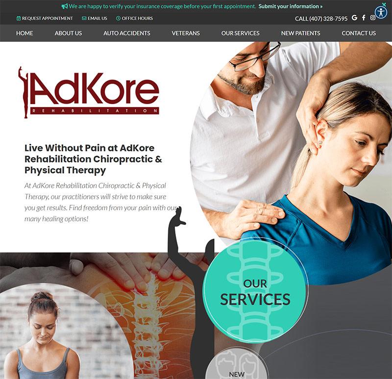 Best Chiropractic Website Design Inspiration: 2021 Edition 7
