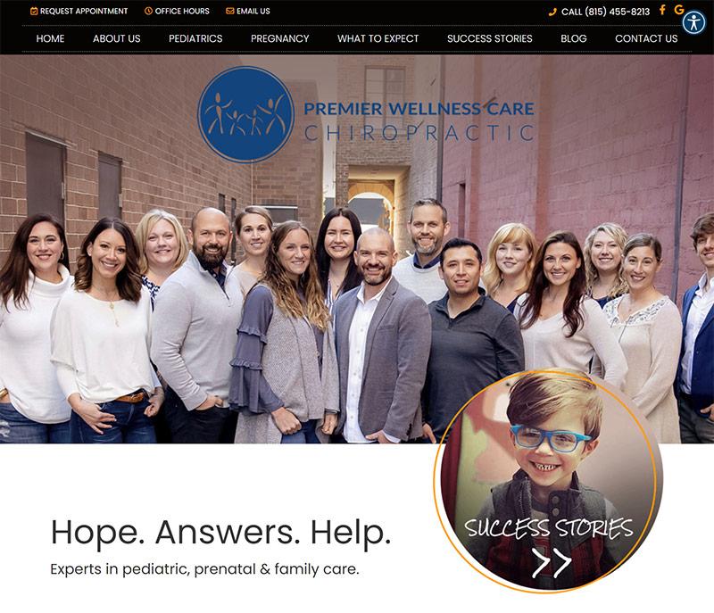 Best Chiropractic Website Design Inspiration: 2021 Edition 9