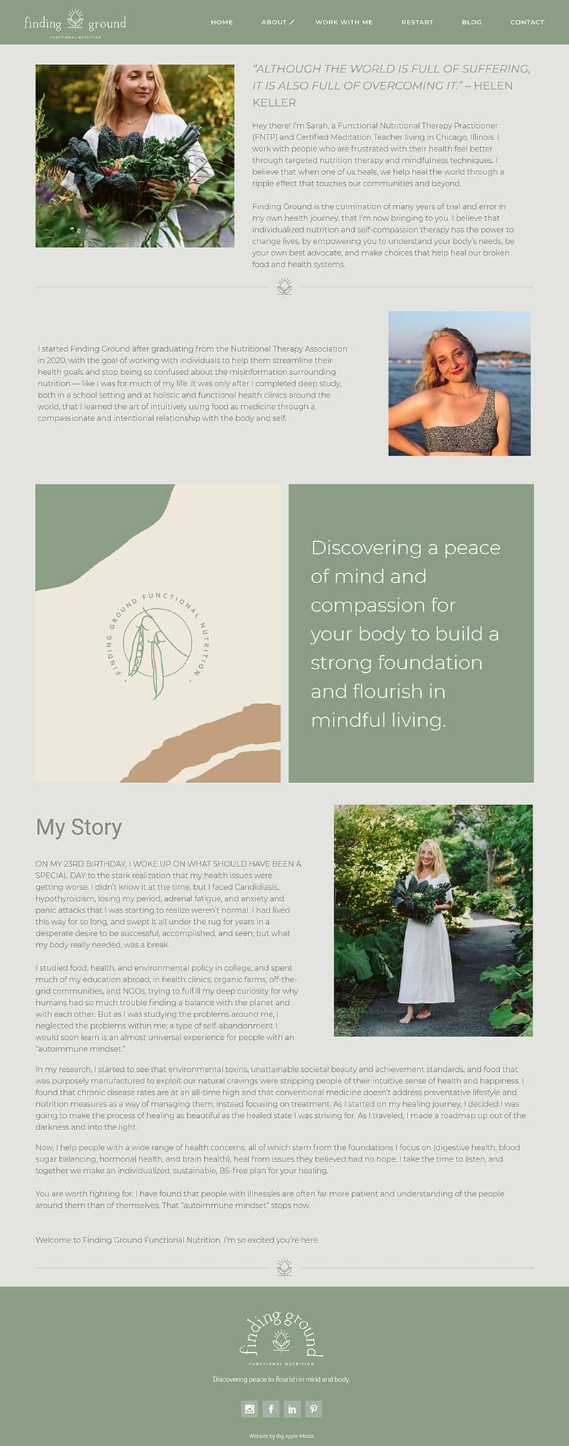 health web design services