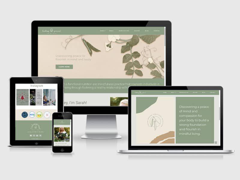responsive health websites