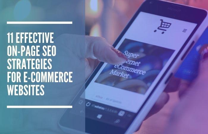 on-page seo ecommerce websites