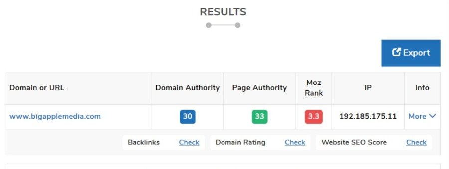 Best Tools To Check Domain Authority 5