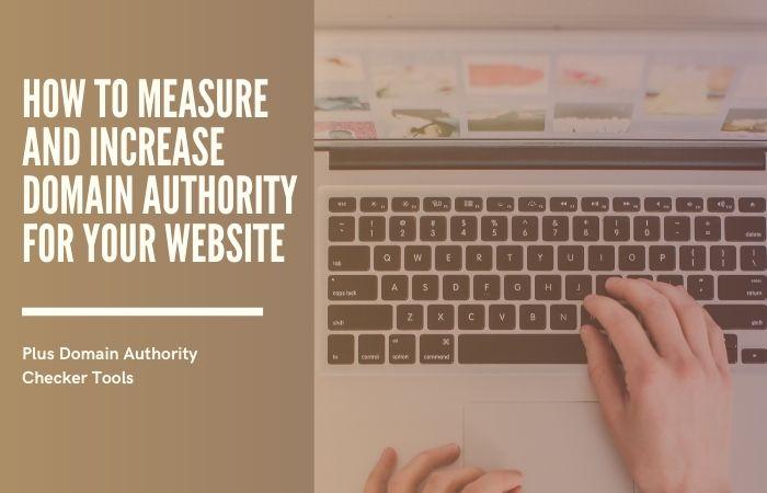 domain authority ranking