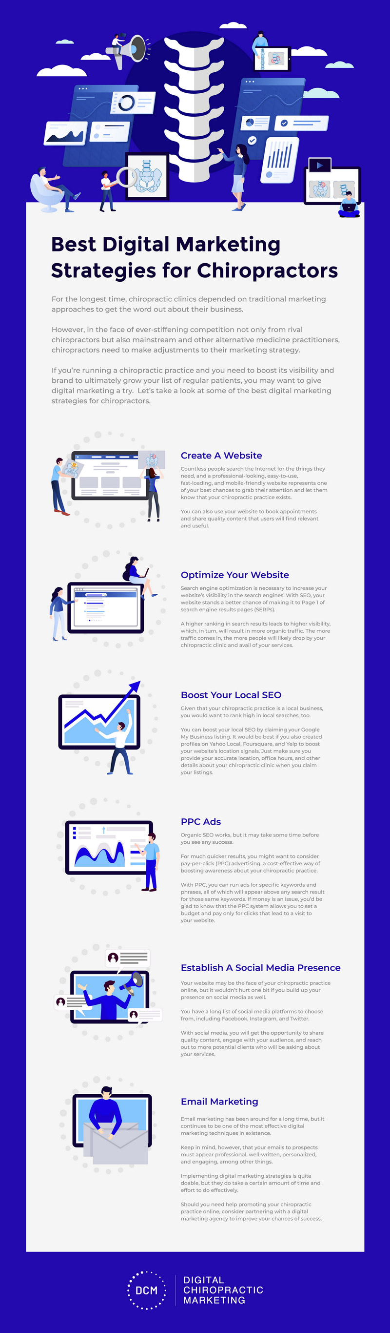 Digital Marketing for Chiropractors: Topnotch Tips to Keep in Mind (Infographic) 1