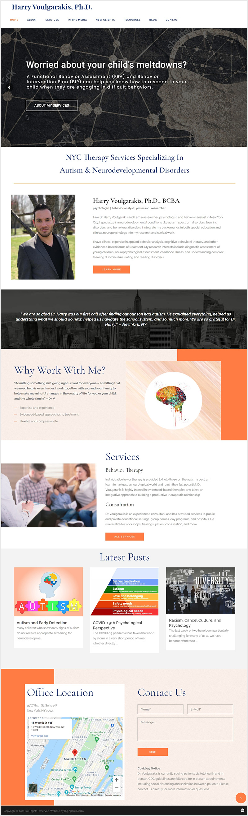 web design example after