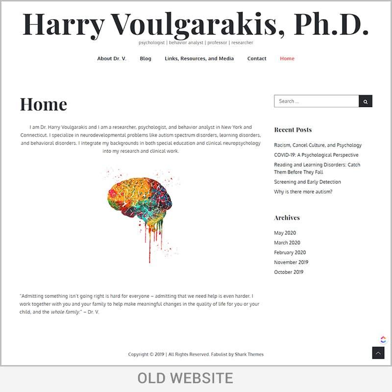 web design before