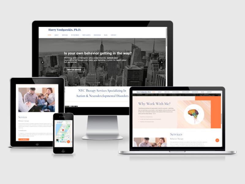 health practitioners webs design