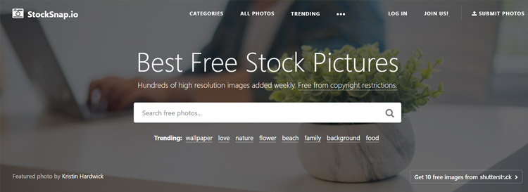 Best Free Stock Photo Sites With High-Quality Images For Personal and Commercial Use 5