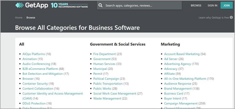 get app software reviews