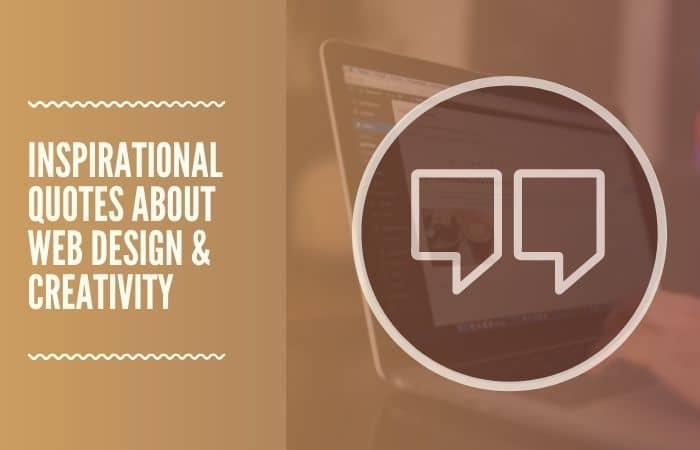 Inspirational website design quotes