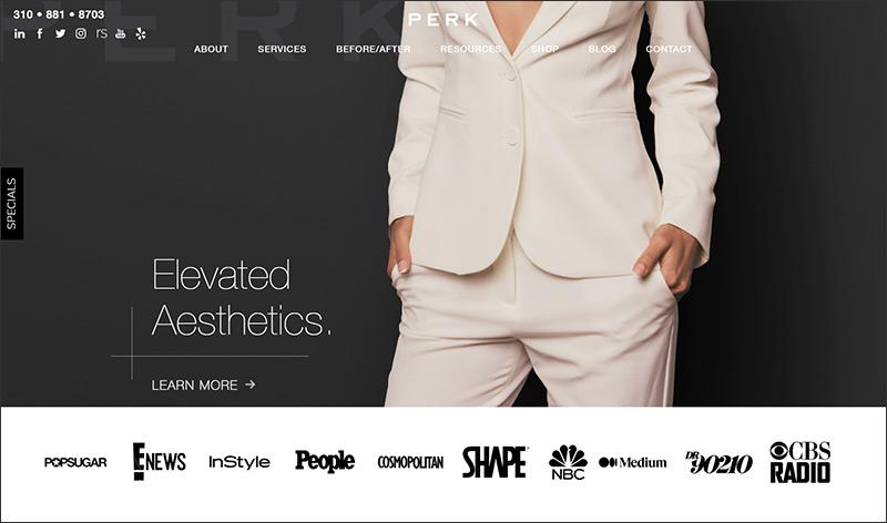 cosmetic surereon website design