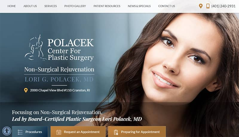plastic surgery design example